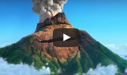 Le Dragon Et Le Volcan De La Colère Pour Aider Un Enfant à Apaiser