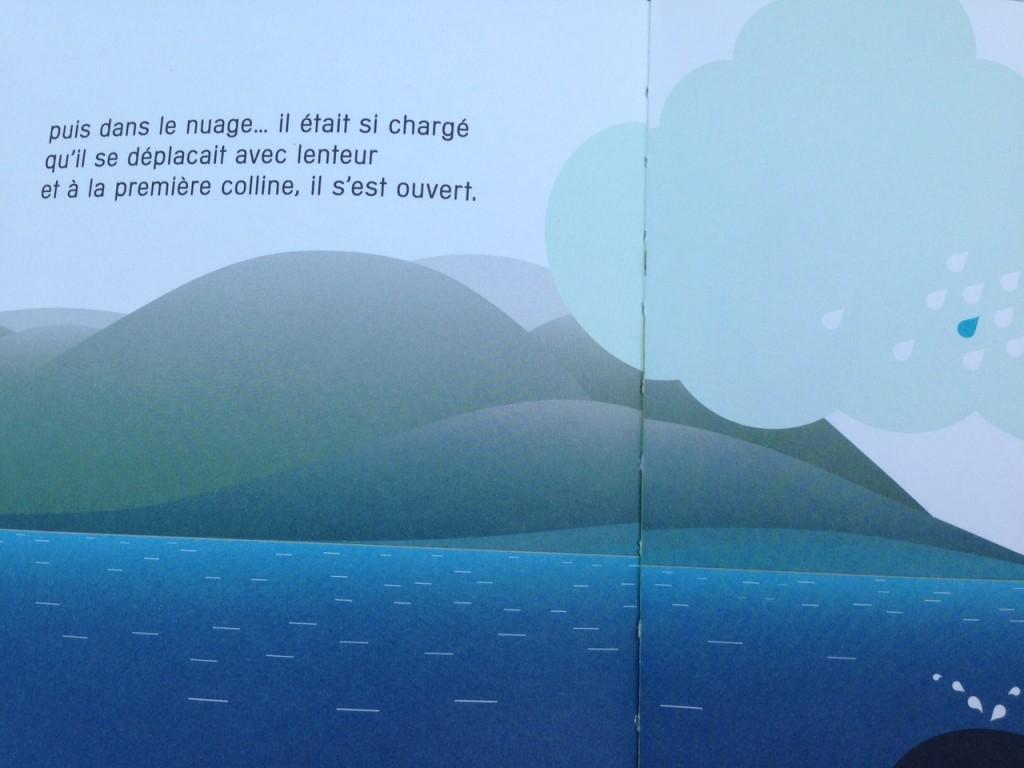bon voyage petite goutte un livre pour comprendre le cycle de l 39 eau. Black Bedroom Furniture Sets. Home Design Ideas