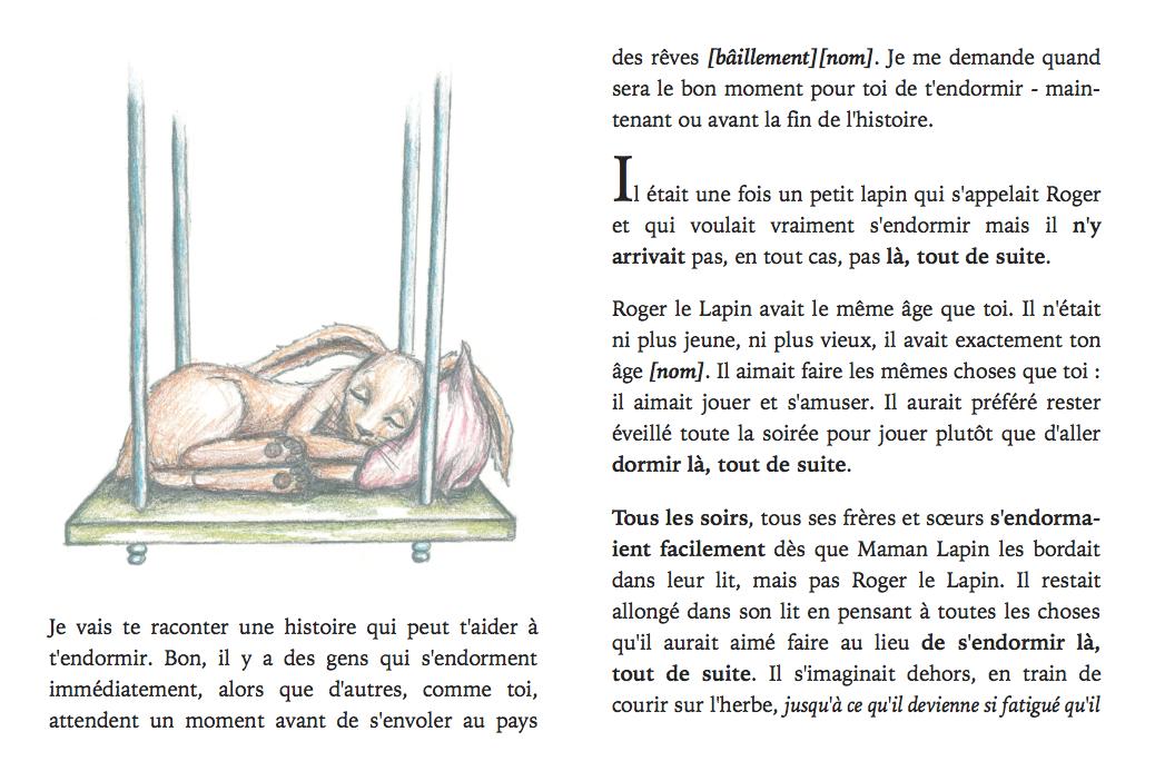 le lapin qui veut s 39 endormir tester pour endormir les enfants. Black Bedroom Furniture Sets. Home Design Ideas