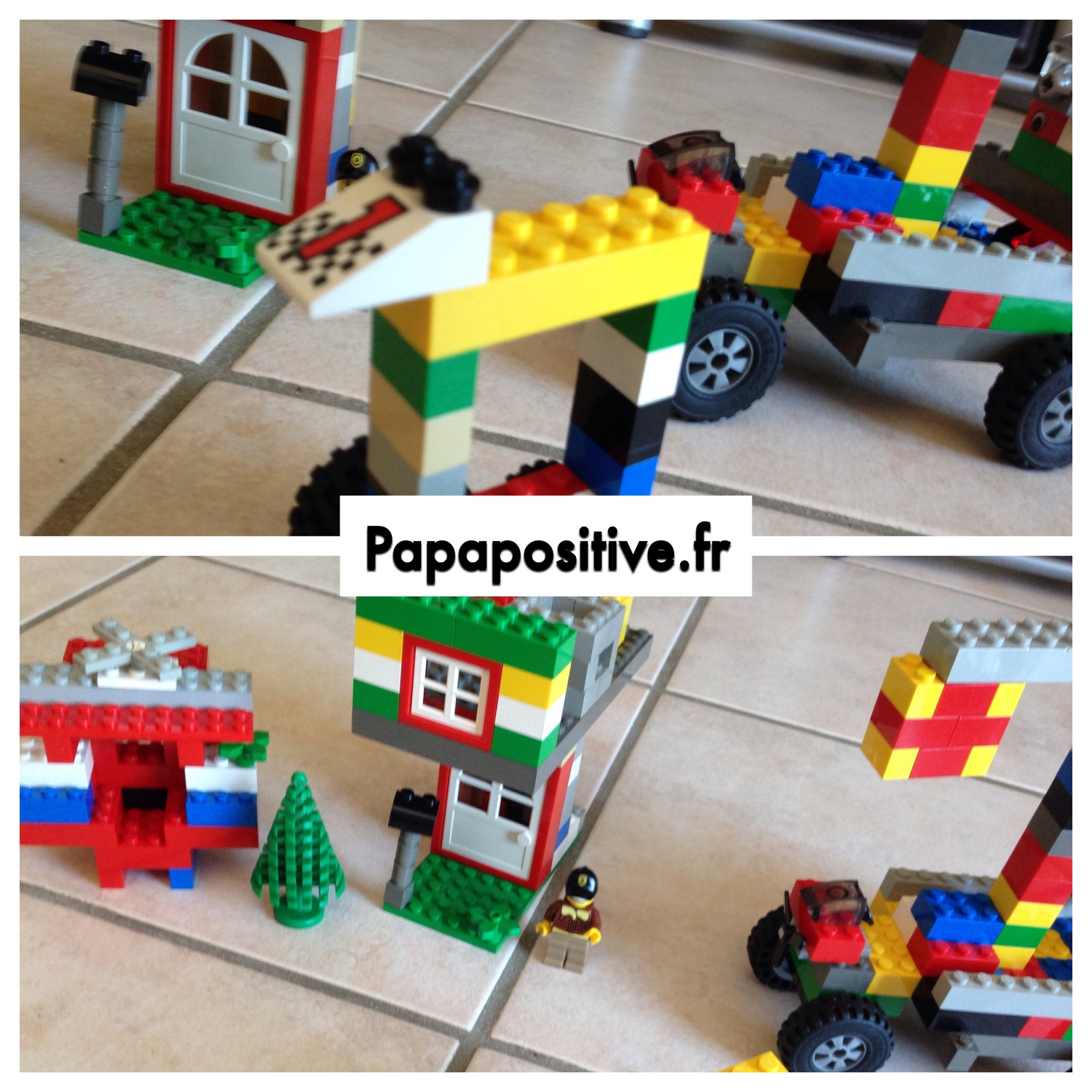 création lego