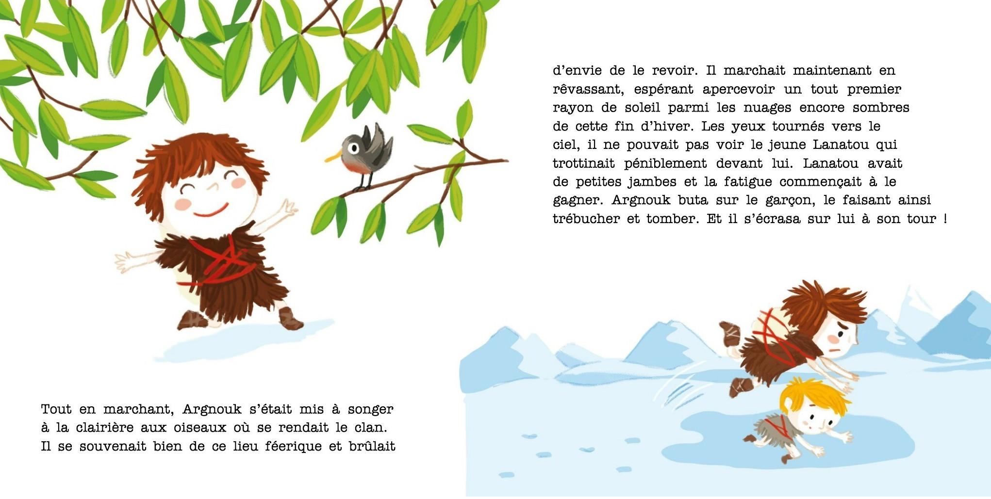 Argnouk se bagarre : L'agressivité