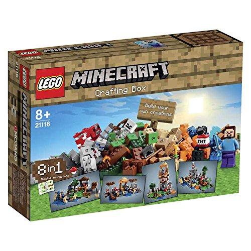 boite de construction lego Minecraft
