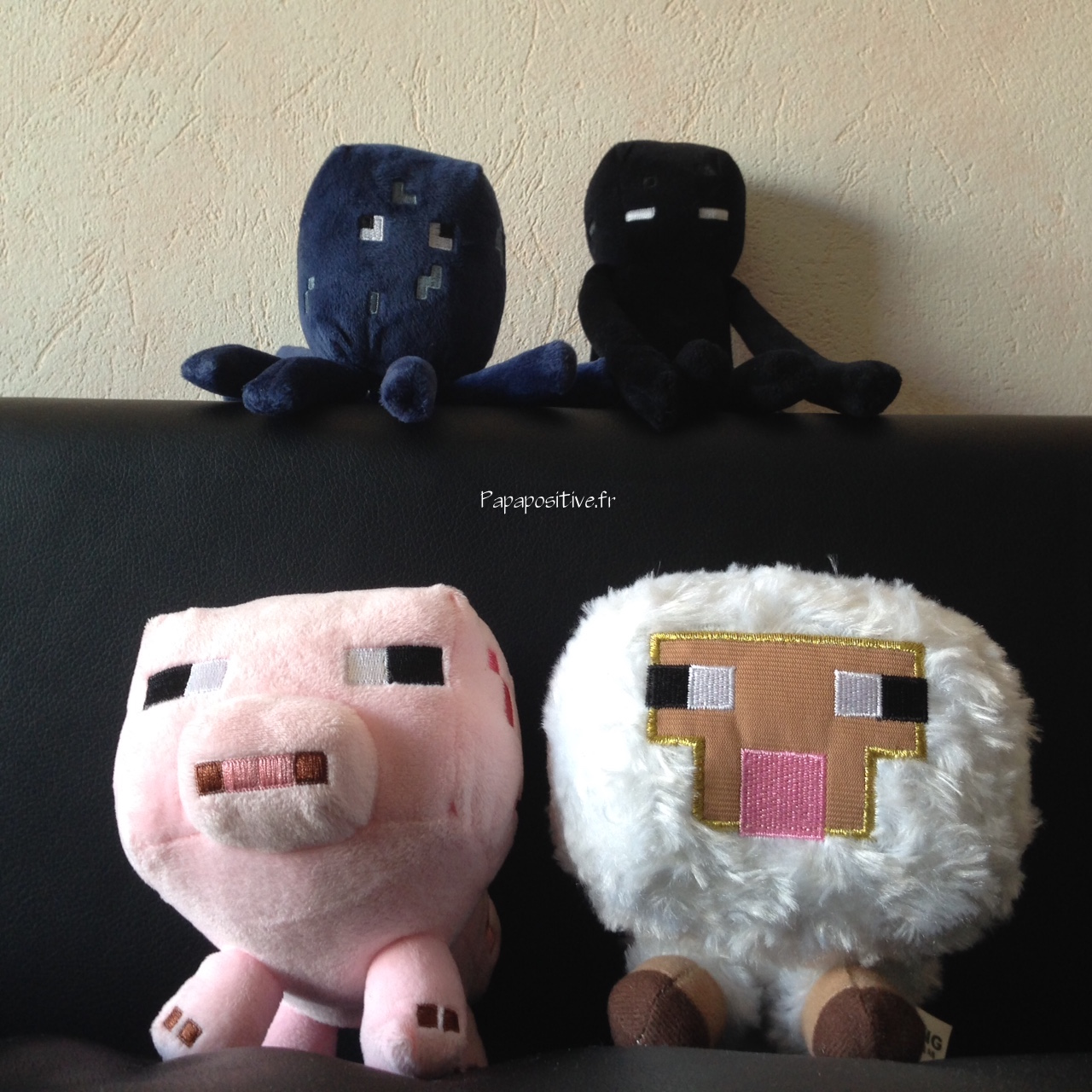 peluches minecraft
