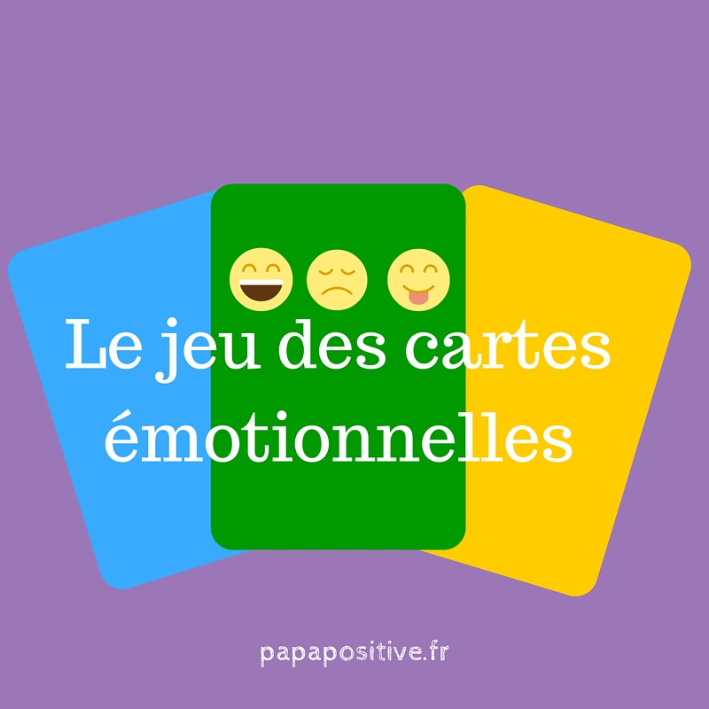 Le jeu des cartes émotionnelles