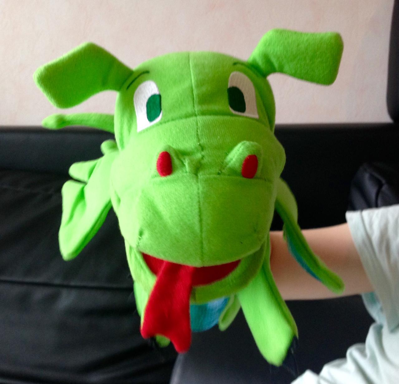 dragon marionnette