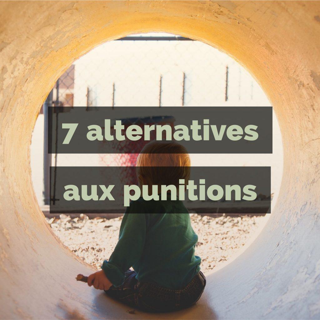 7 alternatives aux punitions