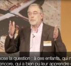 Neurobiologie et éducation : conférence du Prof. Dr. Gerald Hüther