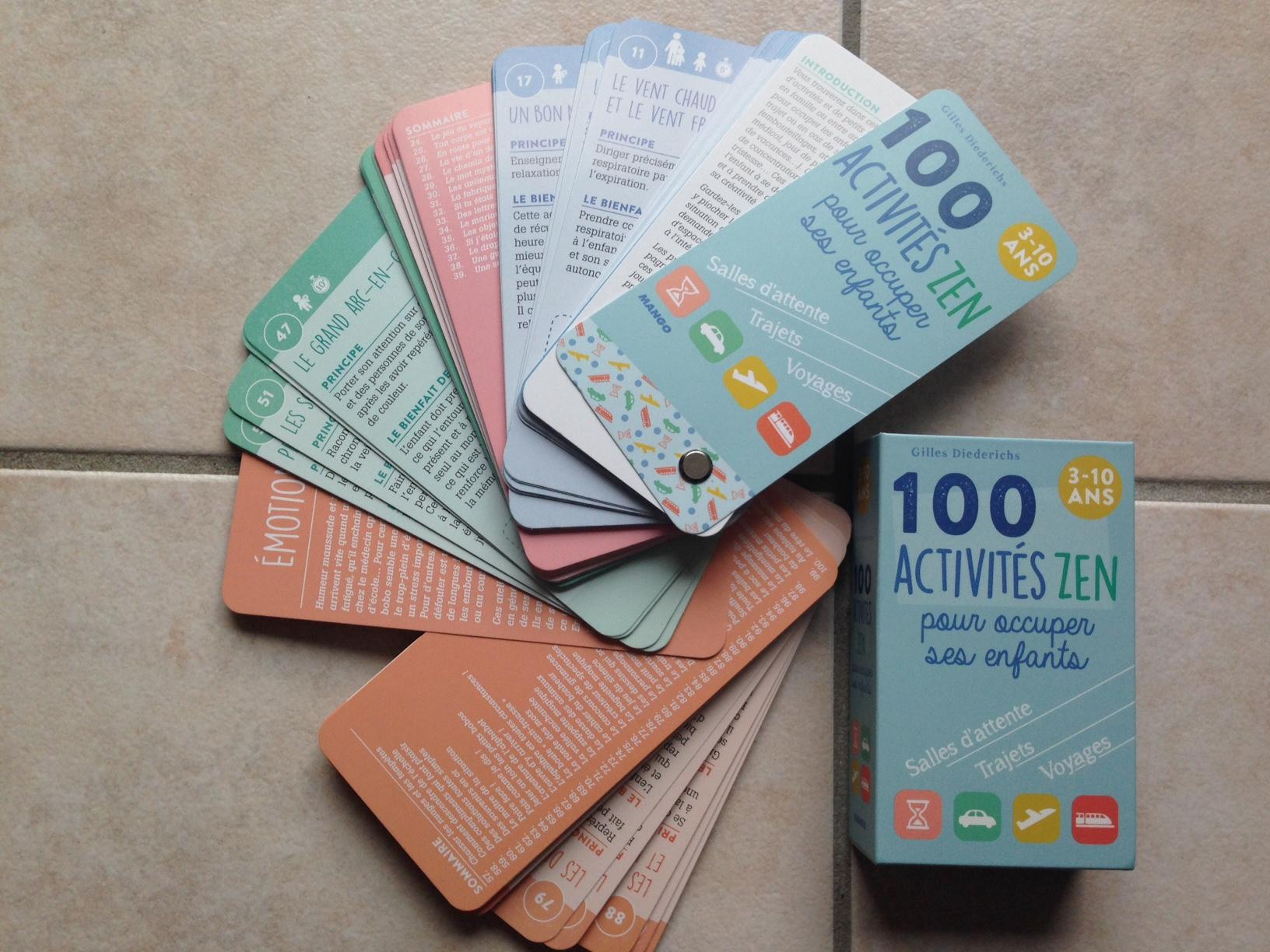 100 activités zen
