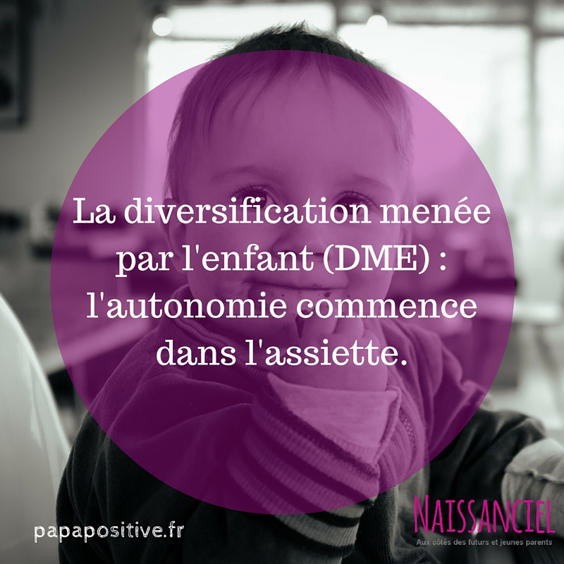 La diversification menée par l'enfant (DME) _ l'autonomie commence dans l'assiette.