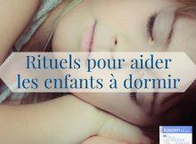 rituels pour aider les enfants à dormir