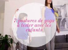 7 postures de yoga à tester avec les enfants