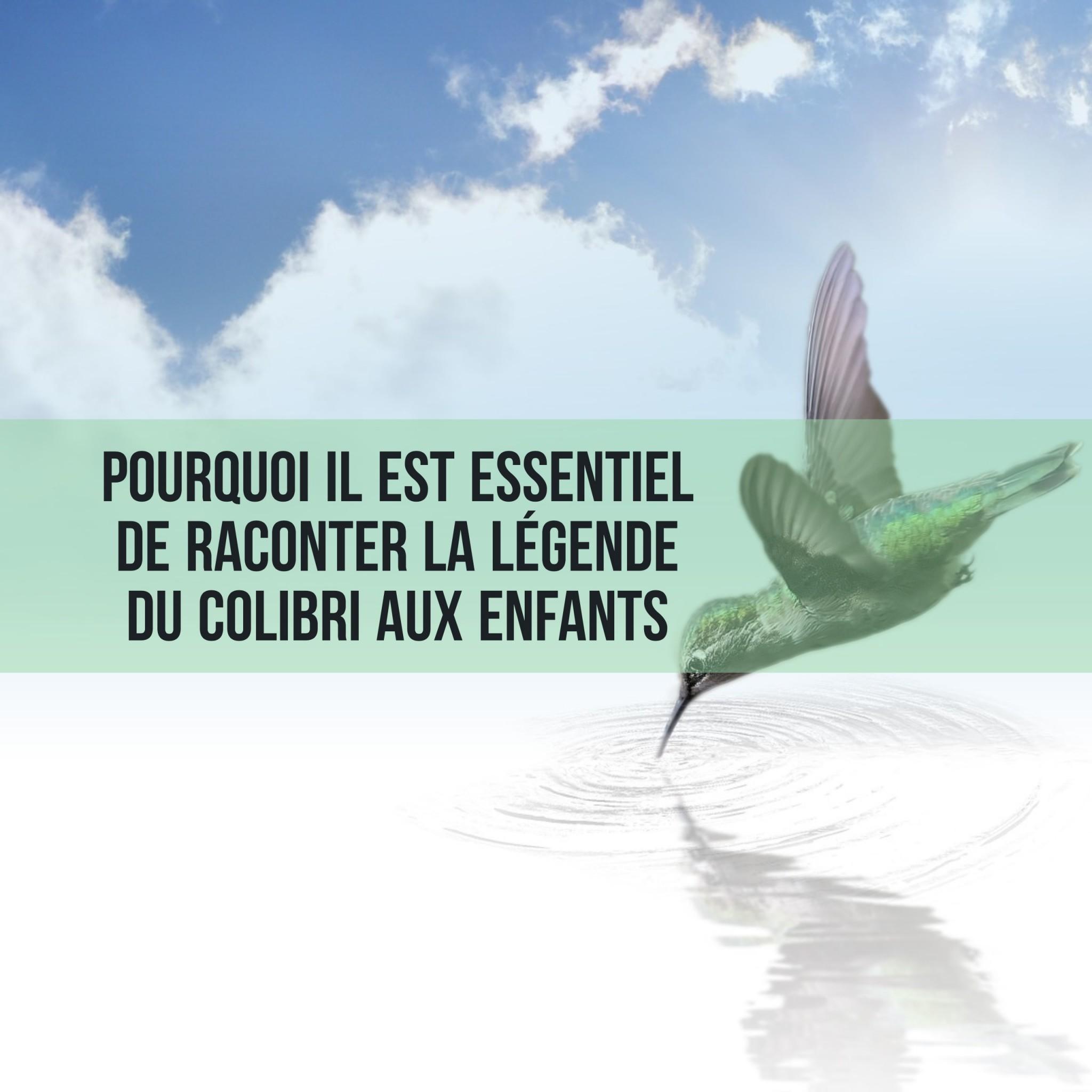 Pourquoi il est essentiel de raconter la légende du colibri aux enfants