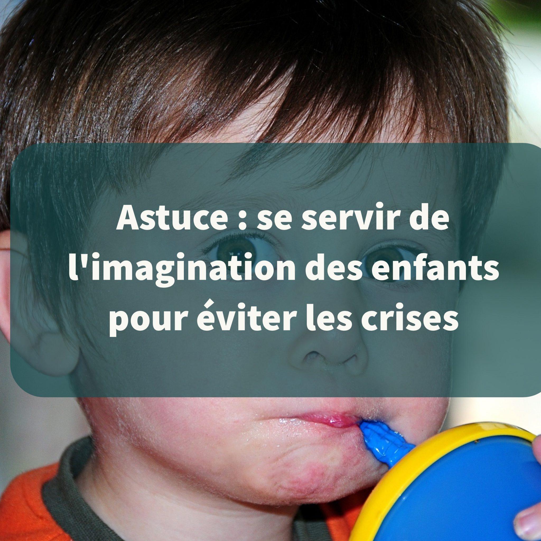 Astuce se servir de l 39 imagination des enfants pour viter les crises - Astuce pour se debarrasser des mouches ...