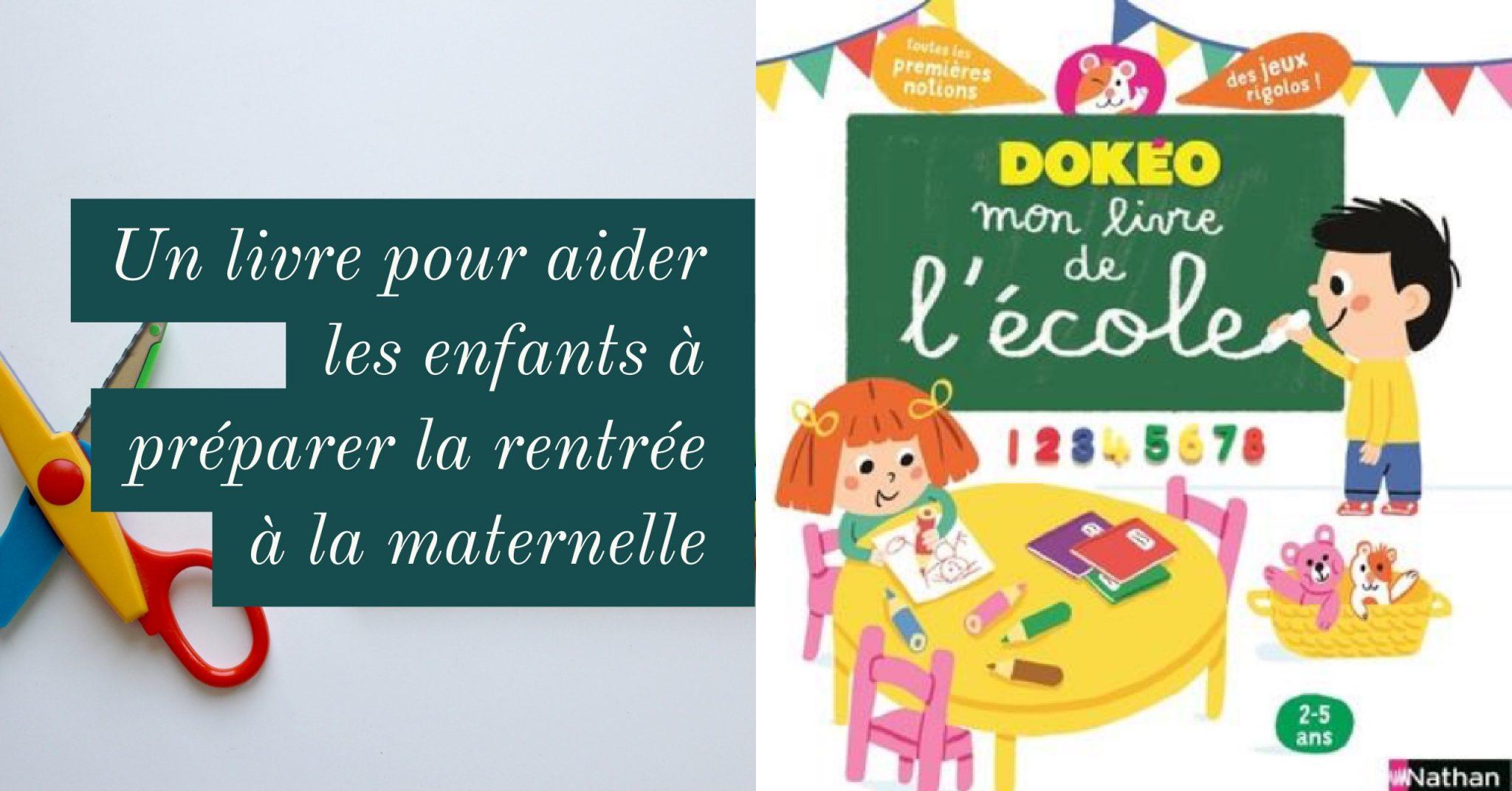 Mon Livre De L'école : Pour Aider Les Enfants à Préparer