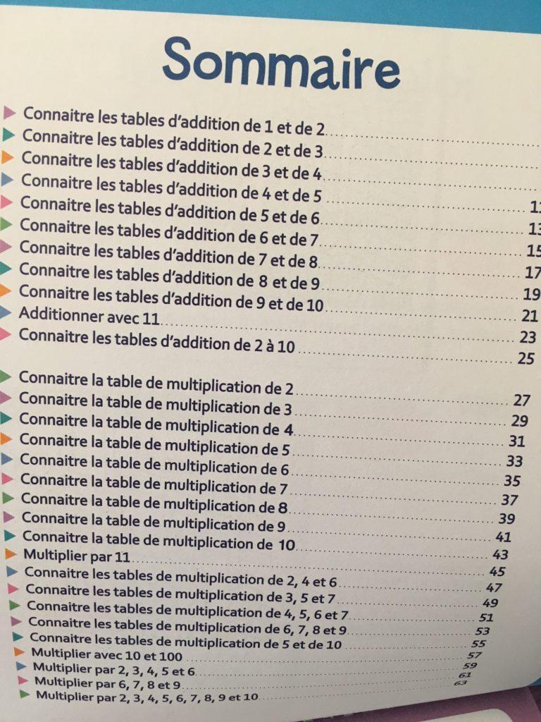 Coloriages magiques pour apprendre les tables d 39 addition - Apprendre la table de multiplication en s amusant ...