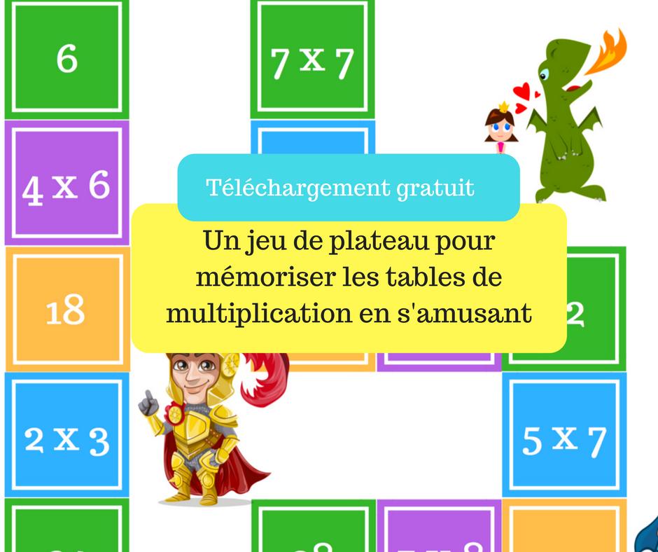 Le jeu de plateau fantastique pour apprendre les tables de for Apprendre table multiplication en jouant
