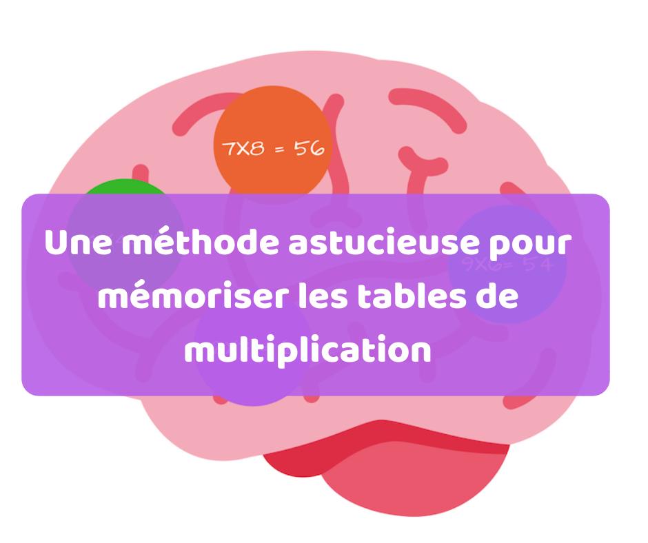 Une m thode originale pour apprendre les tables de - Methode pour apprendre les tables de multiplication ...