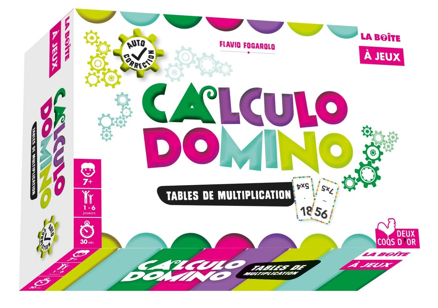 Calculo domino un jeux astucieux pour apprendre les tables de multiplication en s 39 amusant - Domino table de multiplication ...