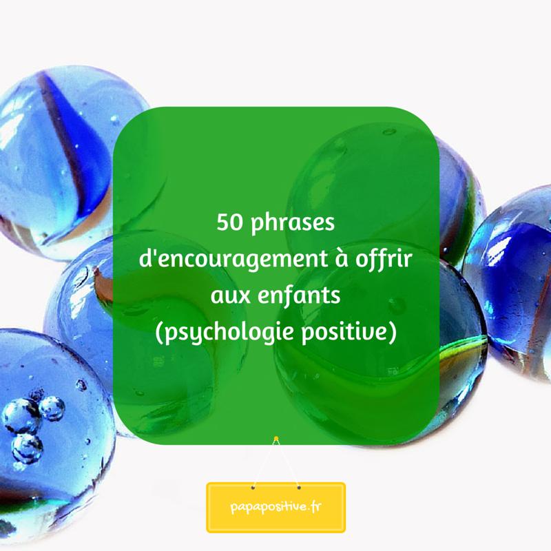50 phrases d'encouragement à offrir aux
