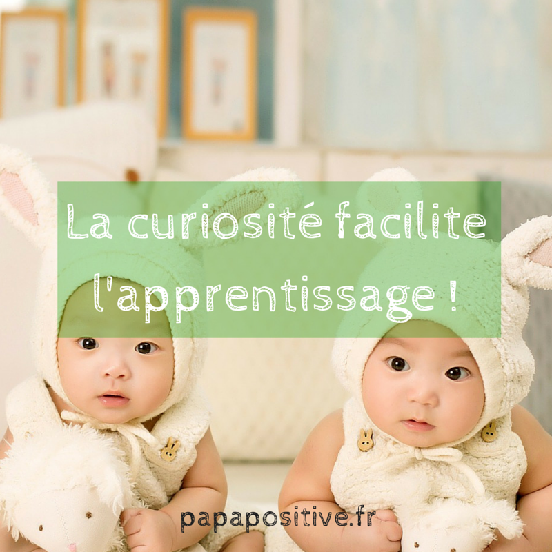 La curiosité facilite l'apprentissage