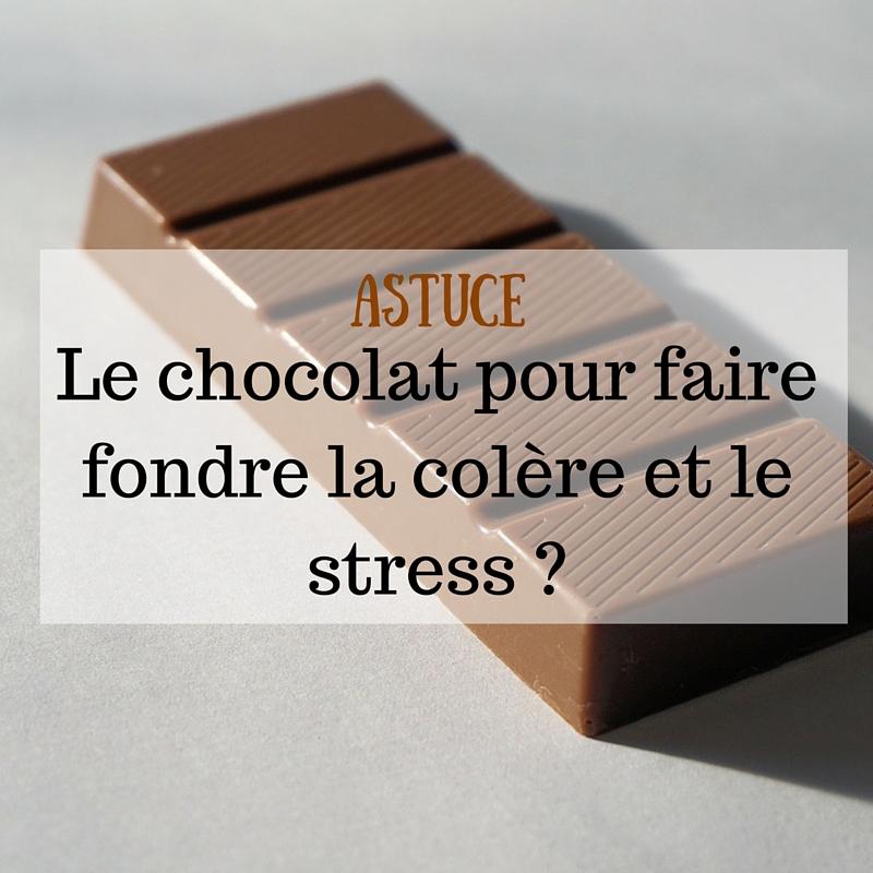 Le chocolat pour faire fondre la colère et le stress ?-2