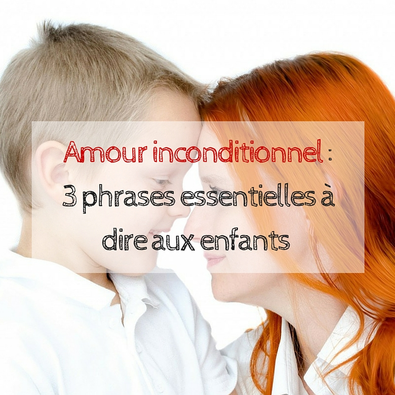 Amour inconditionnel _
