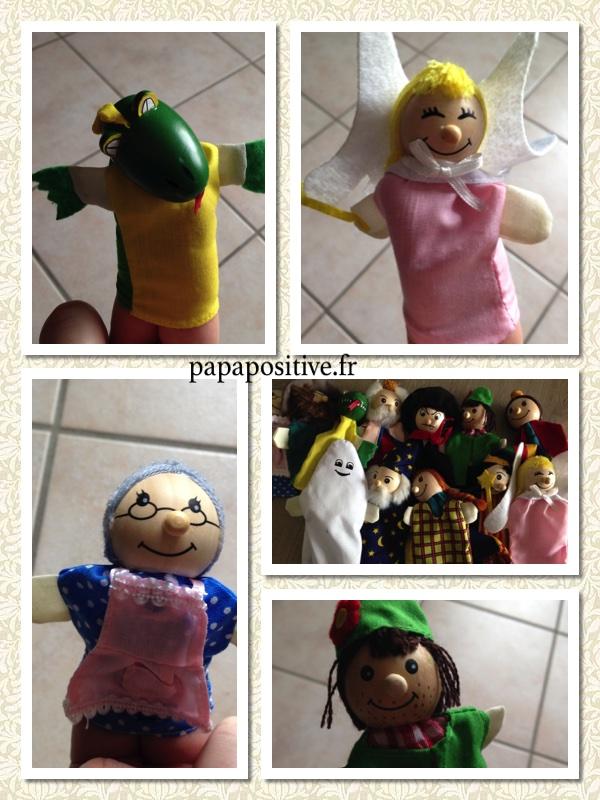 marionettes à doigts