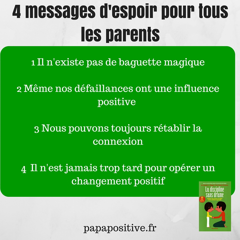 4 messages d'espoir