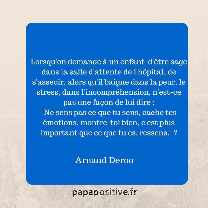 citation Arnaud Deroo conscience estime de soi