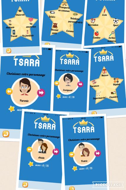 TSARA autisme profils du jeu