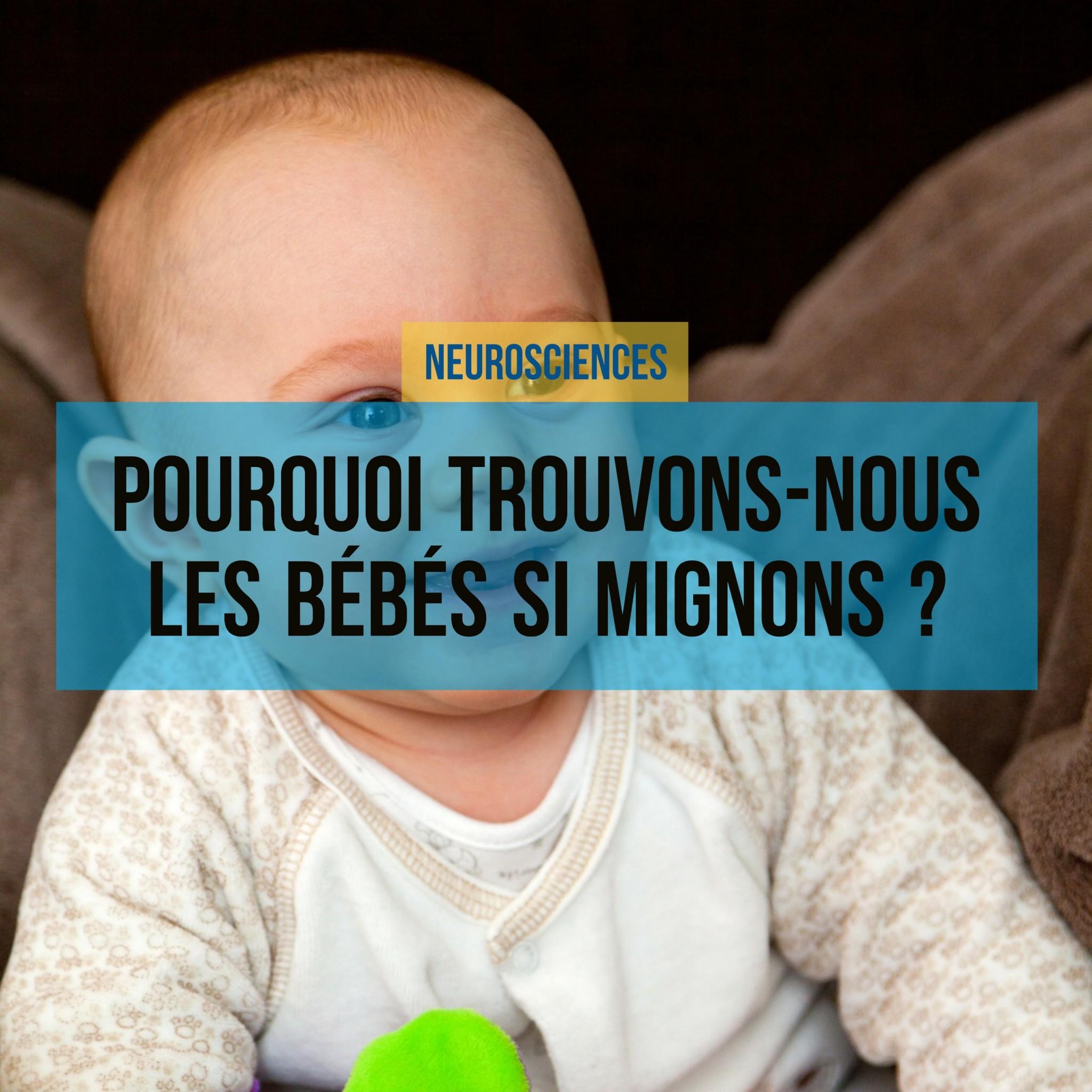Pourquoi trouvons-nous les bébés si mignons ?