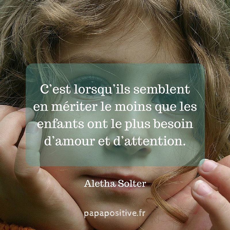 mérite amour et attention
