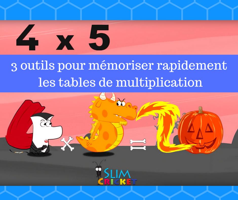 3 outils pour m moriser rapidement les tables de - Comment faire apprendre les tables de multiplication ...