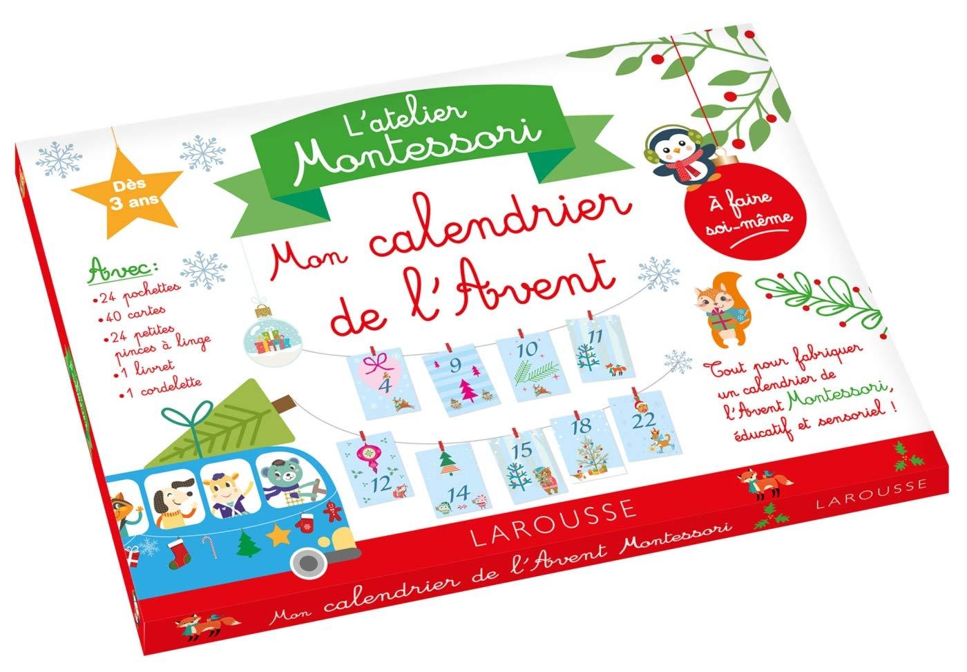Pochette Pour Calendrier De L Avent.Nouveau Le Calendrier De L Avent Montessori