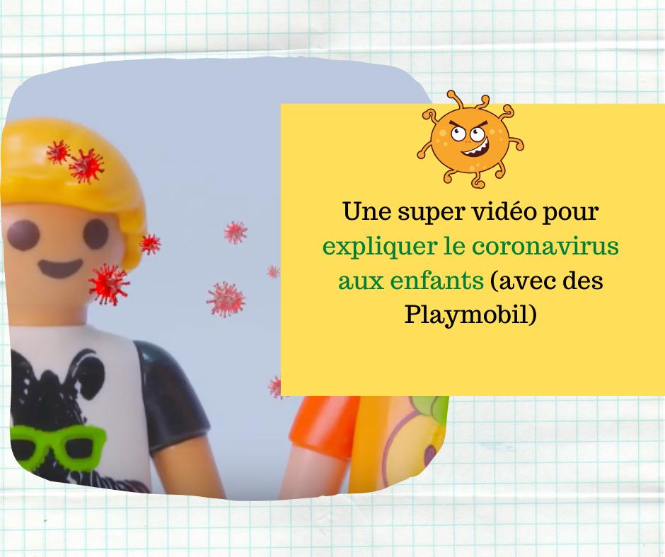 Une vidéo pour expliquer le coronavirus aux enfants (avec des Playmobil)