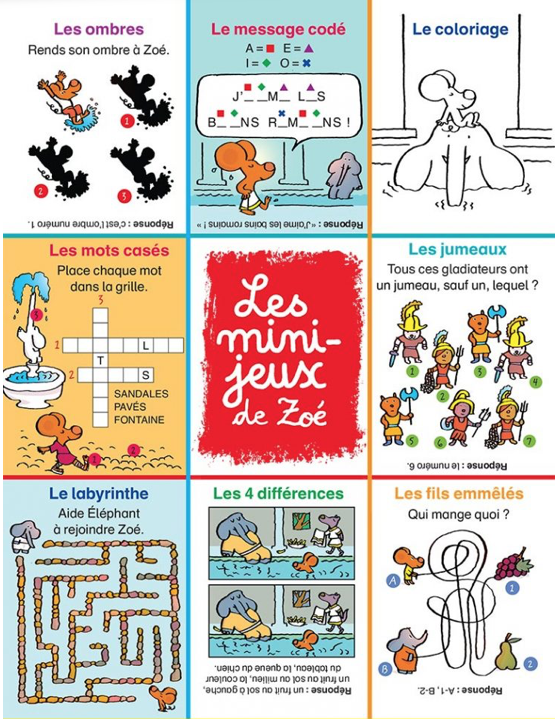 100 Mini Jeux Pour Les Enfants Des 6 Ans