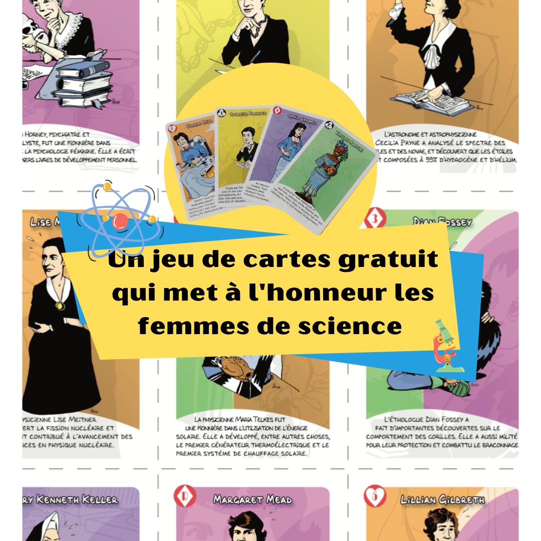 Femmes De Science Jeu De Cartes Gratuit