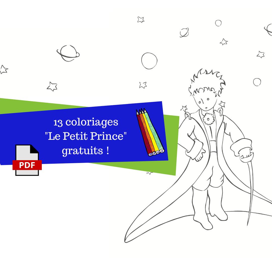 13 Coloriages Gratuits Sur Le Theme Du Petit Prince