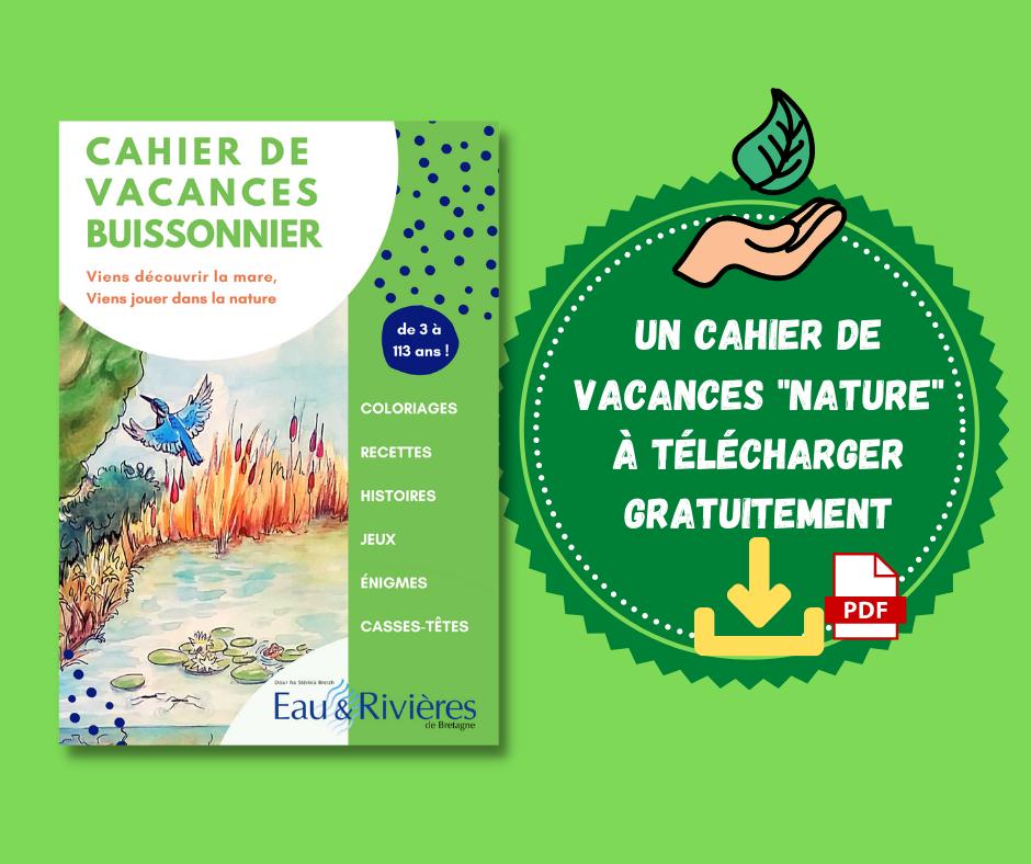 Un super cahier d'activités autour de la nature (téléchargement gratuit)